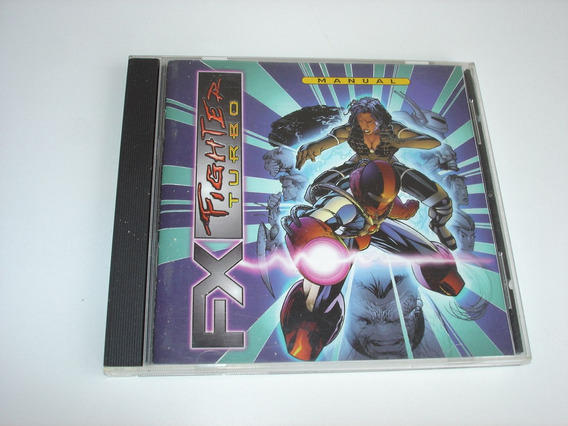 Jogo Cdrom Fx Fighter Turbo Gte Ent - Usado No Estado