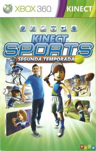 Kinect Sports Segunda Temporada Em Cd Físico Com Nota Fiscak