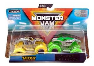 Mj Monster Jam Double Down Showdown Max D Y Alien Invasion
