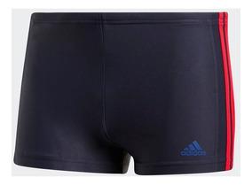 Sunga Boxer adidas Inf Ec3s Bx Azulmar/vermleho