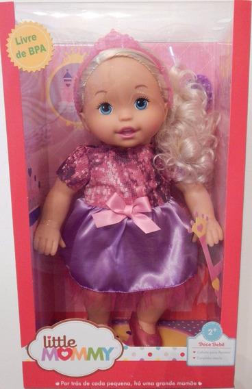 Boneca Little Mommy Doce Bebê Faz De Conta Mattel Bcr36