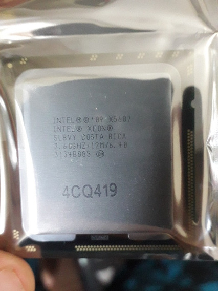 Intel Xeon X5687 3.6ghz Lga1366