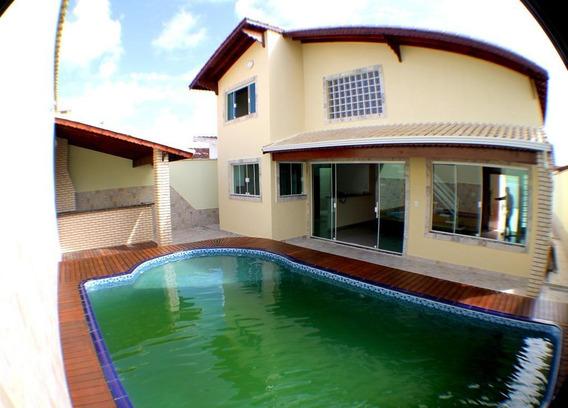 Casa Em Balneário Flórida, Praia Grande/sp De 223m² 4 Quartos À Venda Por R$ 1.100.000,00 - Ca138885