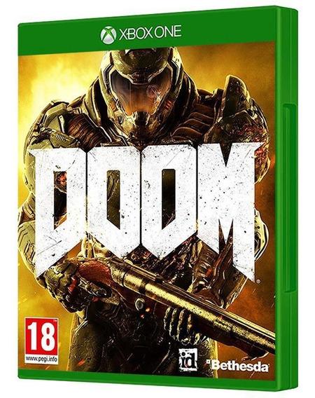 Doom - Xbox One - Mídia Física, Original E Lacrada