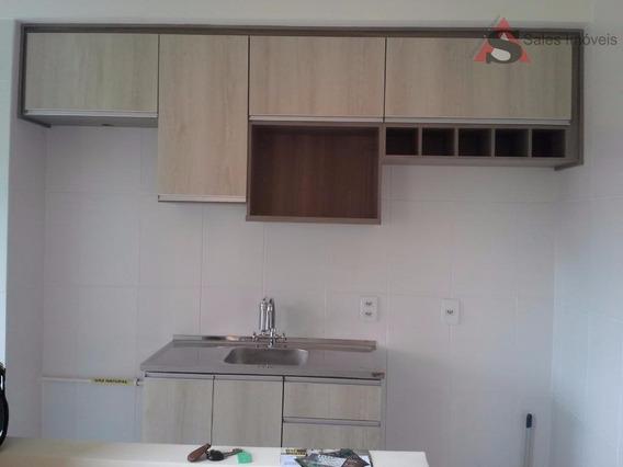 Apartamento Com 2 Dormitórios Para Alugar, 44 M² Por R$ 1.200,00/mês - Canhema - Diadema/sp - Ap31527
