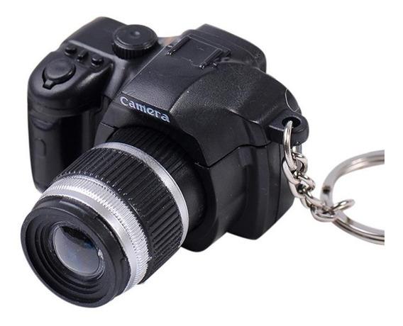 Llavero Camara Fotografica Canon Nikon Reflex Luz Sonido