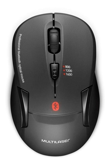 Mouse Wireless Bluetooth Multilaser 254 Profissional Óptico
