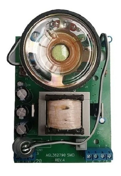 Placa Reposição Interfone Circuito Externo Agl P-10 Ou P10-s