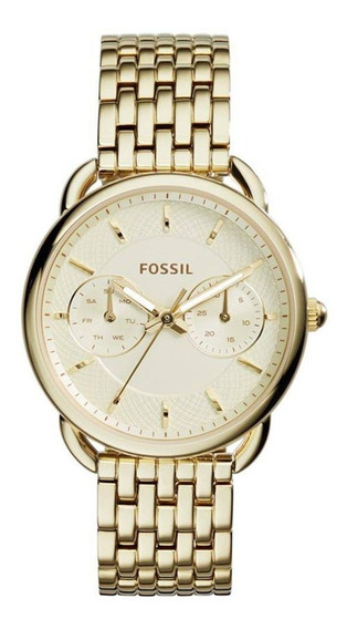 Relógio Fossil Feminino Es3714/4bn Dourado
