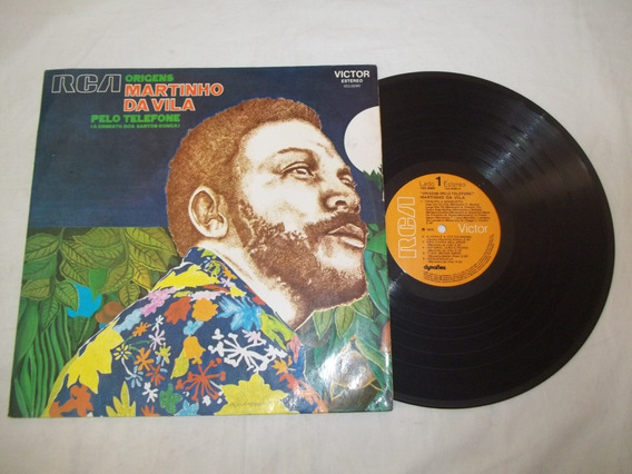 Lp Vinil - Origens Pelo Telefone - Martinho Da Vila - 1973