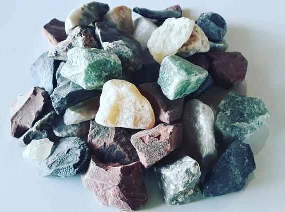 Pedras Brutas Mistas Naturais (3 A 5 Cm) - 1 Kg