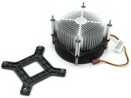 Cooler Intel Sckt 775 Aluminum Cpu Dual Core + Base Parafuso