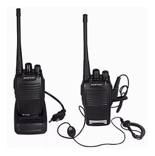 Radio Comunicador 64 Canais Para Longo Alcance 9km Com Fone