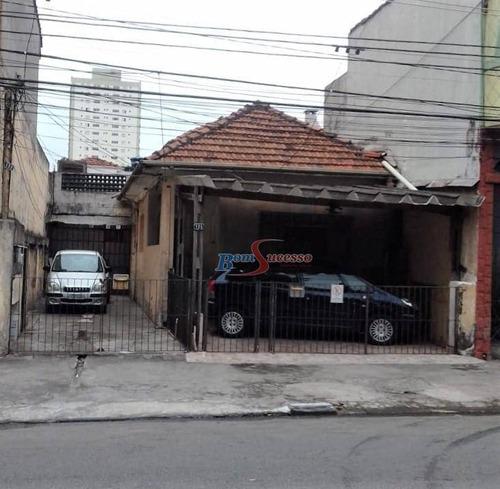 Imagem 1 de 1 de Terreno À Venda, 378 M² Por R$ 2.270.000,00 - Tatuapé - São Paulo/sp - Te0372