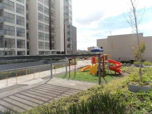 Renta Departamento Nuevo Condominio Latitud Victoria, Querétaro, 127m2, 2 Habitaciones