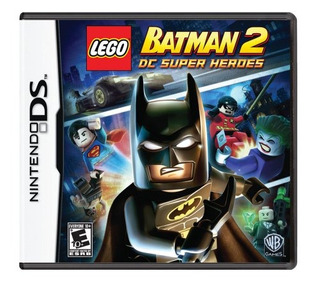 Juegos,legobatman2: Dc Super Heroes - Nintendo Ds