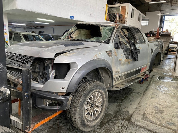 Ford F-150 Raptor 2012 Chocada Siniestro Salvamento