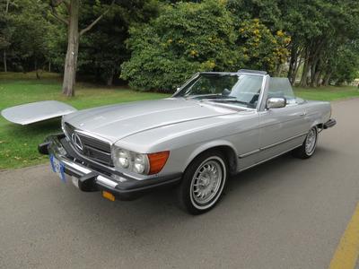 Mercedes Benz 450 Sl Antiguo Y Clasico