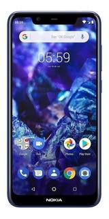 Nokia 5.1 Plus,negro, Stock Ya, Envio Gratis 32 Gb,3 Ram Filma Con Las 2 Camaras Al Mismo Tiempo