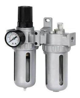 Filtro Regulador E Lubrificador 1/2 Pol. Ar E Óleo Noll-322