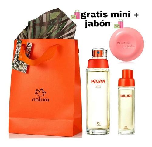 Perfume Kaiak Clásica + Mini Natura Ori - mL a $60