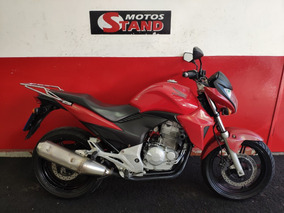 Honda Cb 300 R Cb300r Cb 300r 2012 Vermelha Vermelho
