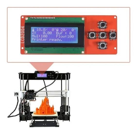Display Tela Lcd Original Com Cabo, Impressora 3d, Anet A8