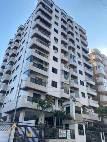 Imagem 1 de 11 de Apartamento Com 2 Dormitórios À Venda, 90 M² Por R$ 315.000,00 - Vila Guilhermina - Praia Grande/sp - Ap2099