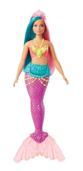 Barbie Sereia Dreamtopia Mattel - Gjk07