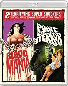 Blu-ray Blood Mania / Point Of Terror