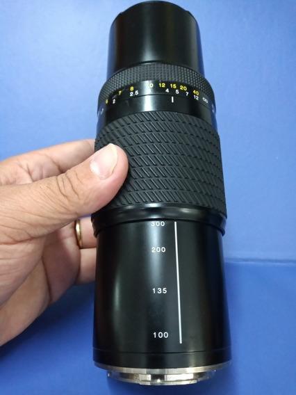 Lente 100-300mm Para Sony Alfa E Minolta Em Ótimo Estado