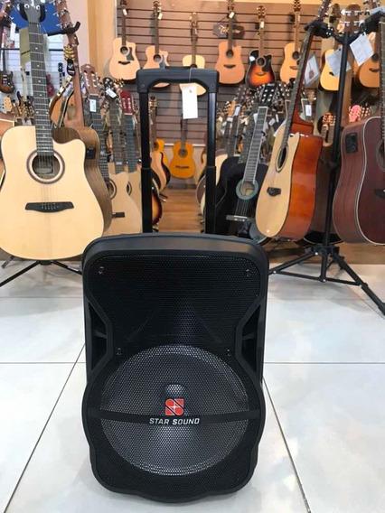 Caixa De Som Star Sound Ss120 Bluetooth