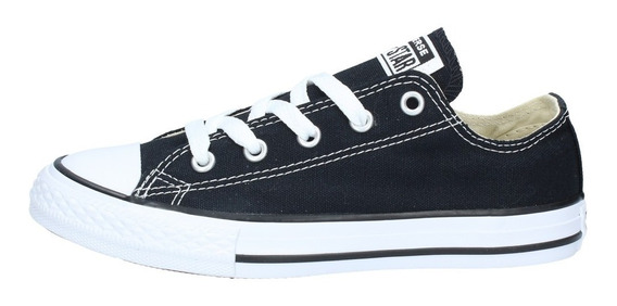 converse negras junior