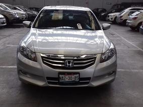 Honda Accord Ex L4 Piel Qc,rines De Aluminio