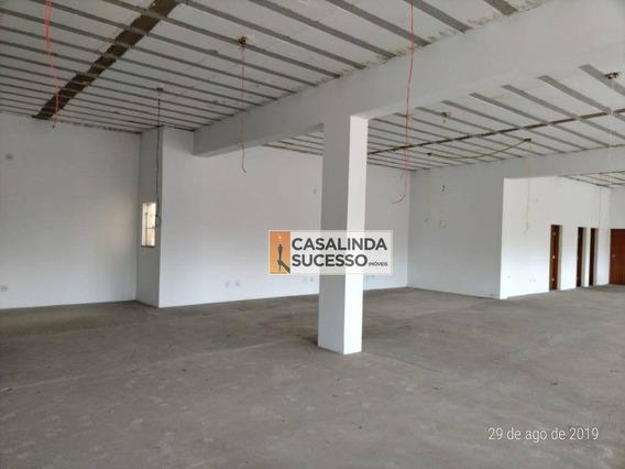 Salão Para Alugar, 373 M² Por R$ 7.500,00/mês - Itaquera - São Paulo/sp - Sl0082