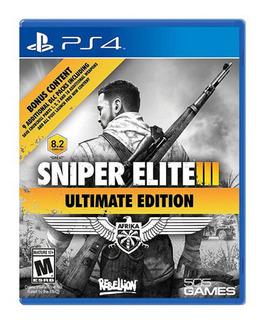 Juego Ps4 Sniper Elite 3: Ultimate Edition