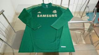 Camisa Oficial Manga Longa Chelsea Inglaterra Goleiro adidas