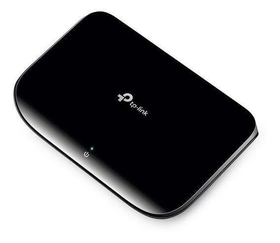 Switch 5 Bocas Tp-link Tl-sg1005d 10/100/1000 Mbps Gigabit