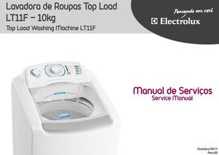 Manual De Serviço Lavadora Electrolux Lt 11 F