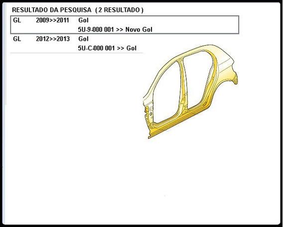 Painel Lateral Esquerdo 5u4-809605 Ctr