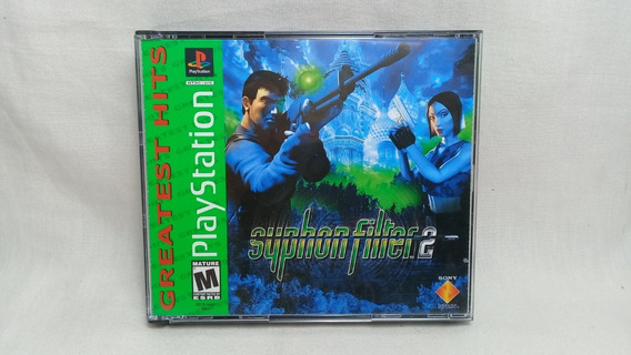 Syphon Filter 2 Ps1 Original Usado