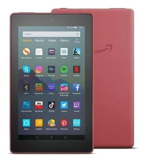 "Tablet Amazon Fire 7 KFMUWI 7"" 16GB plum con memoria RAM 1GB"