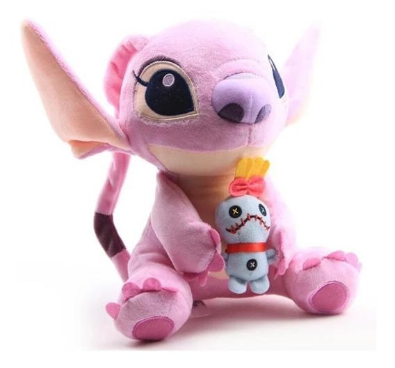 Disney Lilo E Stitch Em Plush Angel Original Importado***
