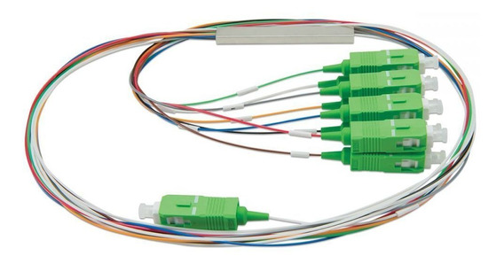 Splitter Óptico Balanceado 1x8 Sc/apc Xfs 182 Intelbras