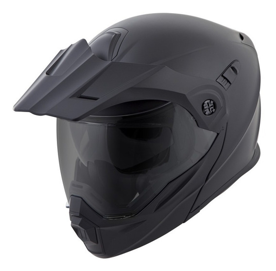 Casco Abatible Scorpion Exo At 950 Negro Doble Proposito