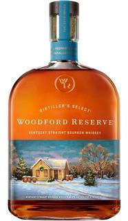 Whiskey Woodford Reseve De Litro Winter Spirit Whisky Bourbo