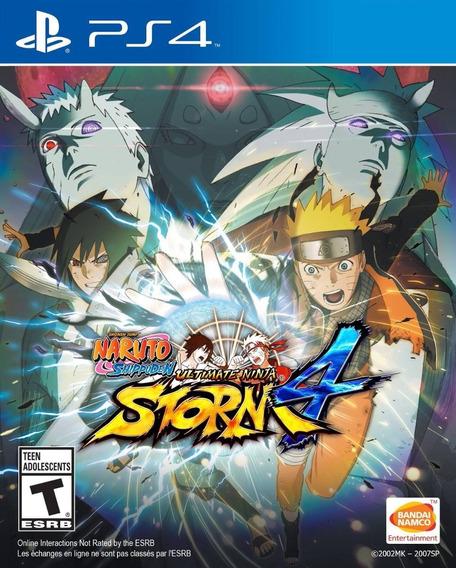 Naruto Shippuden Ultimate Storm 4 Ps4 1 Português Promoção