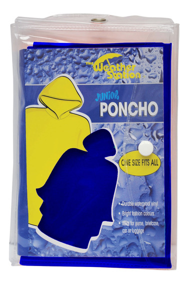 Chaby International Poncho De Pvc Juvenil