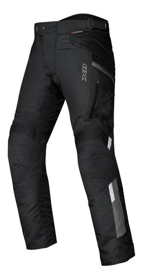 Calça X11 Troy 2 Impermeavel Preta Moto Proteção Motoqueiro