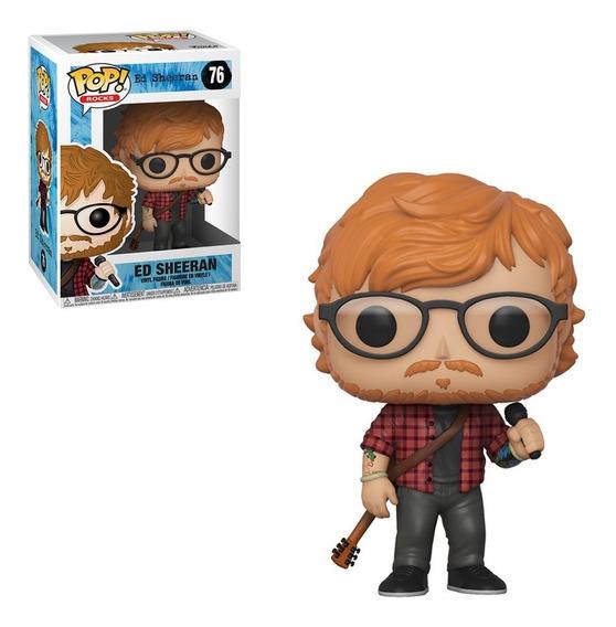 Figura Funko Pop Rocks Music - Ed Sheeran 76
